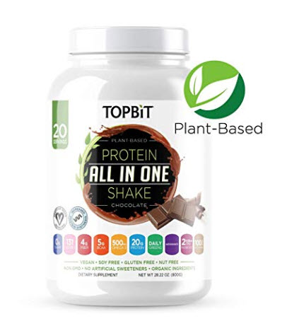 Vegan weight loss meal replacement shake from www.tryadietforamonth.com