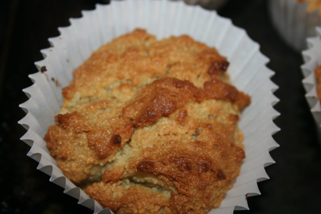 honey almond coconut muffins from www.tryadietforamonth.com