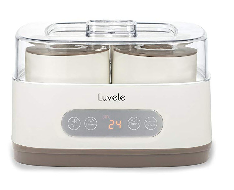 luvele yogurt maker from www.tryadietforamonth.com
